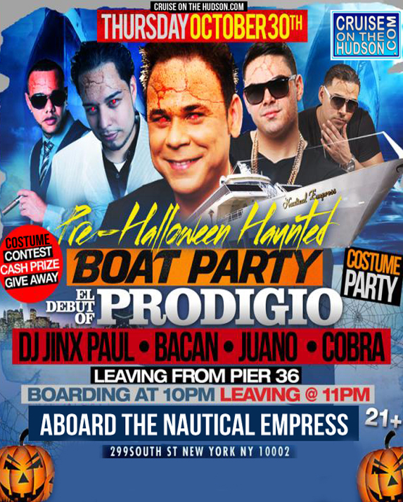 Pre Halloween Cruise NYC Halloween Tickets Nautical Empress