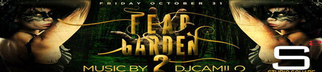 DJ Camilo Fear Garden Halloween Party at Studio Square Astoria